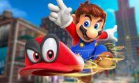 Super Mario Odyssey guida la classifica dei titoli Switch più venduti