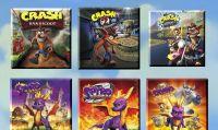 Spyro + Crash Remastered Game Bundleè ora disponibile per PS4 e Xbox One