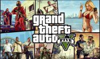 Pubblicità Grand Theft Auto V - immagini del set