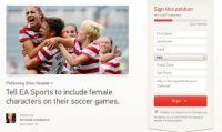 FIFA 14: petizione per includere i giocatori di sesso femminile