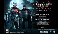 Batman: Arkham Knight - Ecco il 'Gotham's Future Skin Pack'