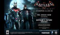 Batman: Arkham Knight - Ecco il 'Gotham's Future Skin Pack'