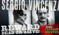 Red Dead Online - Disponibile la taglia leggendaria di Sergio Vincenza