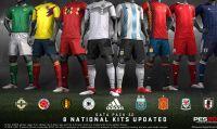 PES 2018 - Nuove divise da gioco e aggiornamenti dei calciatori con il Data Pack 3.0 gratuito