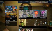 PlayStation 4 - immagini dell'interfaccia utente