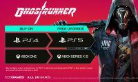 Ghostrunner uscirà anche su PlayStation 5 e Xbox Series. UPGRADE GRATUITO nel 2021 per i possessori della versione PS4 o Xbox One