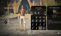 Absolvers - Un nuovo video mostra la personalizzazione del personaggio