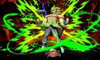 Dragon Ball FighterZ - Broly di Super si mostra nel nuovo trailer