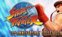 Festeggia i 30 anni di Street Fighter con il lancio della Street Fighter 30th Anniversary Collection