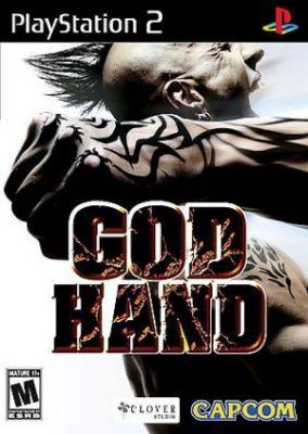 Copertina del gioco God Hand per PlayStation 2