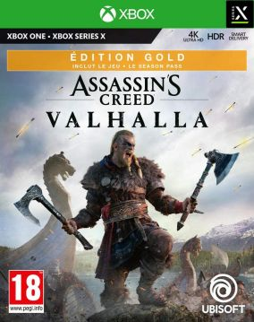 Copertina del gioco Assassin's Creed Valhalla per Xbox Series X