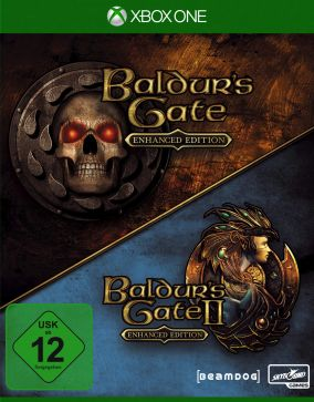 Copertina del gioco The Baldur's Gate: Enhanced Edition per Xbox One