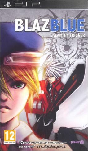 Copertina del gioco Blazblue: Calamity Trigger Portable per PlayStation PSP