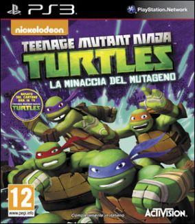 Copertina del gioco Teenage Mutant Ninja Turtles: La Minaccia del Mutageno per PlayStation 3