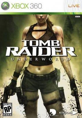 Copertina del gioco Tomb Raider: Underworld per Xbox 360