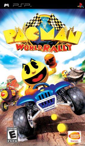 Immagine della copertina del gioco Pac-Man World Rally per PlayStation PSP