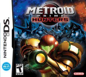 Immagine della copertina del gioco Metroid Prime Hunters per Nintendo DS