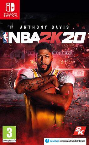 Copertina del gioco NBA 2K20 per Nintendo Switch