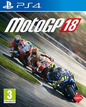 Copertina del gioco MotoGP 18 per Playstation 4