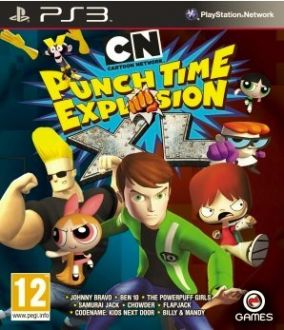 Copertina del gioco Cartoon Network: Punch Time Explosion XL per PlayStation 3