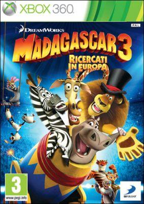 Immagine della copertina del gioco Madagascar 3: The Video Game per Xbox 360