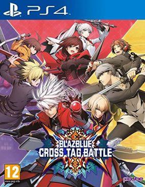 Immagine della copertina del gioco BlazBlue Cross Tag Battle per Playstation 4