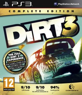 Copertina del gioco DiRT 3: Complete Edition per PlayStation 3