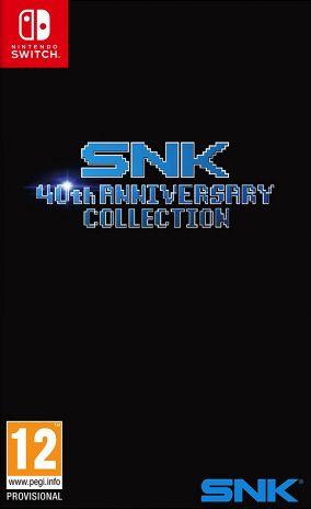 Immagine della copertina del gioco SNK 40TH Anniversary Collection per Nintendo Switch