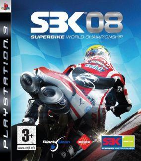 Copertina del gioco SBK-08 Superbike World Championship per PlayStation 3