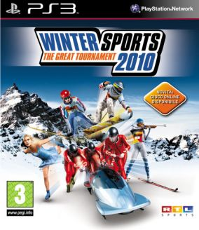 Immagine della copertina del gioco Winter Sports 2010: The Great Tournament per PlayStation 3