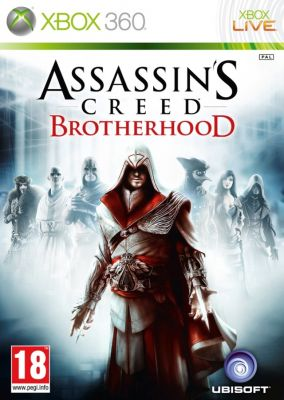 Copertina del gioco Assassin's Creed : Brotherhood per Xbox 360