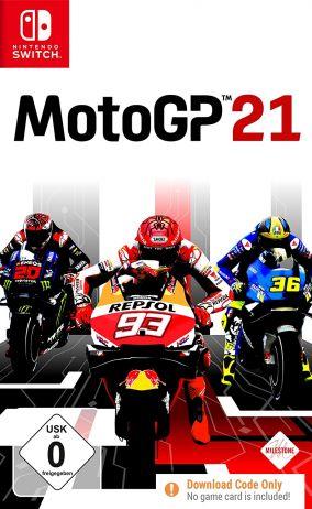 Copertina del gioco MotoGP 21 per Nintendo Switch