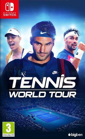 Copertina del gioco Tennis World Tour per Nintendo Switch