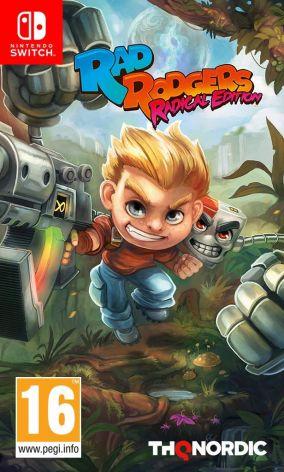 Copertina del gioco Rad Rodgers: Radical Edition per Nintendo Switch