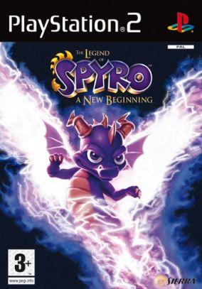 Immagine della copertina del gioco The Legend of Spyro A New Beginning per PlayStation 2