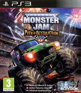 Copertina del gioco Monster Jam: Path of Destruction per PlayStation 3
