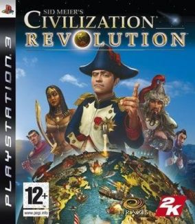 Copertina del gioco Sid Meier's Civilization Revolution per PlayStation 3