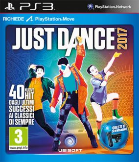 Copertina del gioco Just Dance 2017 per PlayStation 3