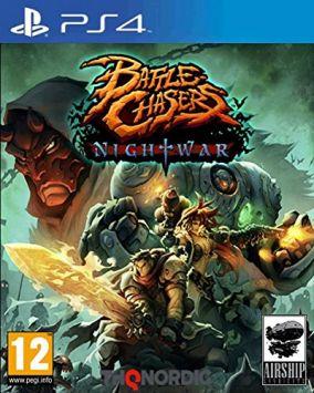 Immagine della copertina del gioco Battle Chasers: Nightwar per Playstation 4