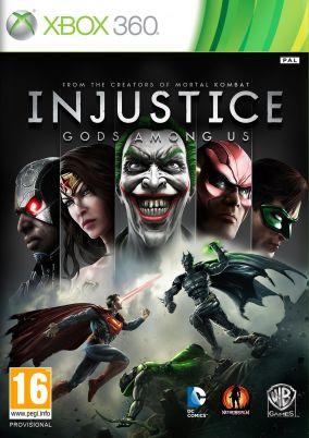 Copertina del gioco Injustice: Gods Among Us per Xbox 360