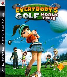 Copertina del gioco Everybody's Golf World Tour per PlayStation 3
