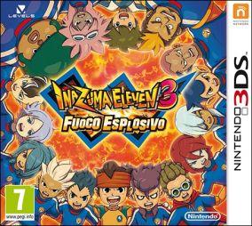 Immagine della copertina del gioco Inazuma Eleven 3: Fuoco esplosivo per Nintendo 3DS