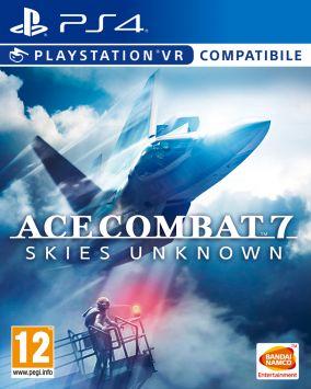 Immagine della copertina del gioco Ace Combat 7: Skies Unknown per PlayStation 4