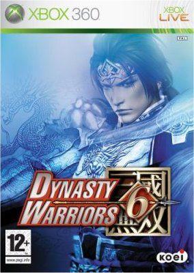 Copertina del gioco Dynasty Warriors 6 per Xbox 360
