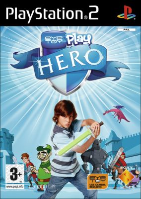 Copertina del gioco Eye Toy: Play Hero per PlayStation 2