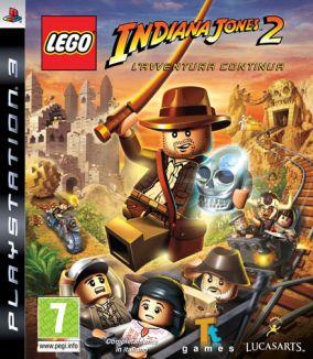 Copertina del gioco LEGO Indiana Jones 2: L'avventura continua per PlayStation 3