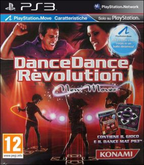 Immagine della copertina del gioco Dance Dance Revolution New Moves per PlayStation 3