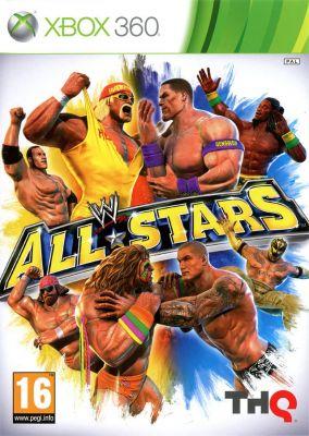 Immagine della copertina del gioco WWE All Stars per Xbox 360