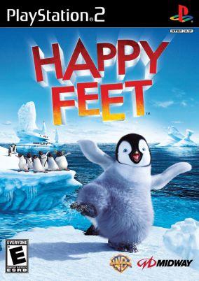 Immagine della copertina del gioco Happy Feet per PlayStation 2