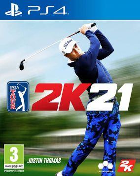 Copertina del gioco PGA Tour 2K21 per PlayStation 4